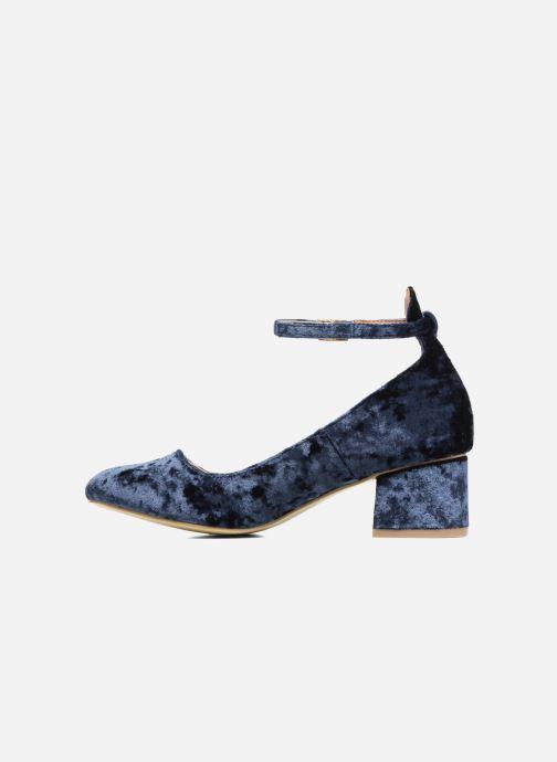Ballerines I Love Shoes CAMILLA Bleu vue face