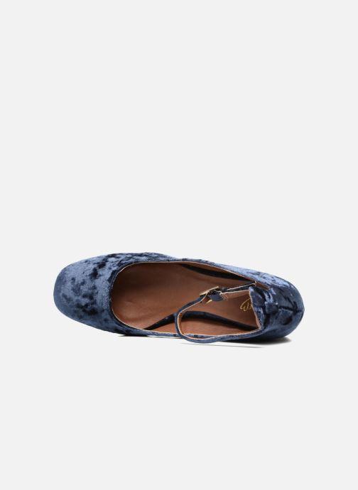 Ballerines I Love Shoes CAMILLA Bleu vue gauche