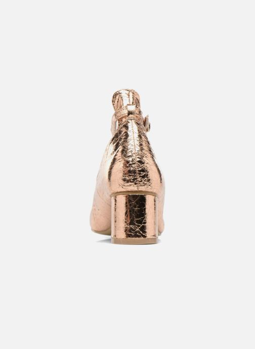 Bailarinas I Love Shoes CAMILLA Oro y bronce vista lateral derecha