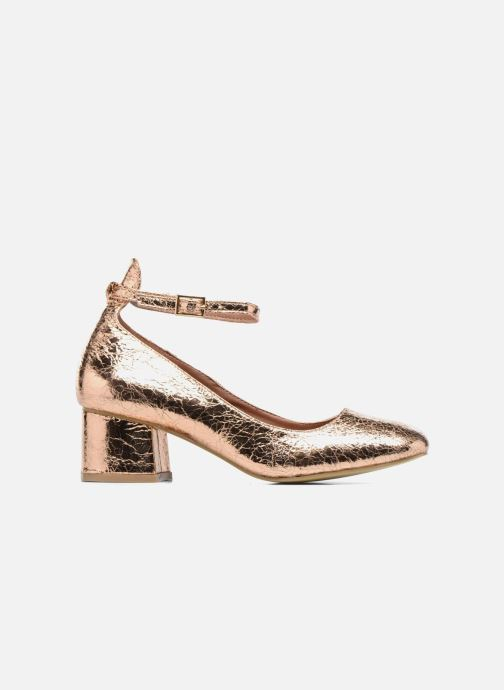 Ballet pumps I Love Shoes CAMILLA Bronze and Gold back view