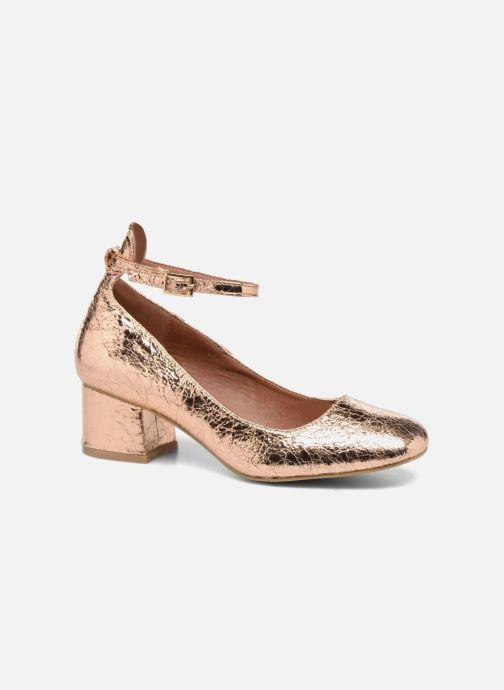 Ballerines I Love Shoes CAMILLA Or et bronze vue détail/paire
