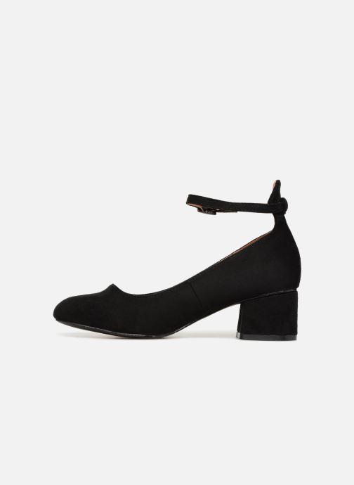 Ballerina's I Love Shoes CAMILLA Zwart voorkant