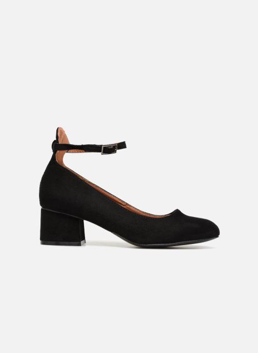 Ballerina's I Love Shoes CAMILLA Zwart achterkant