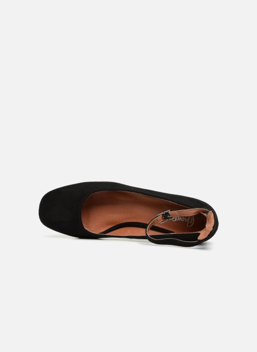 Bailarinas I Love Shoes CAMILLA Negro vista lateral izquierda