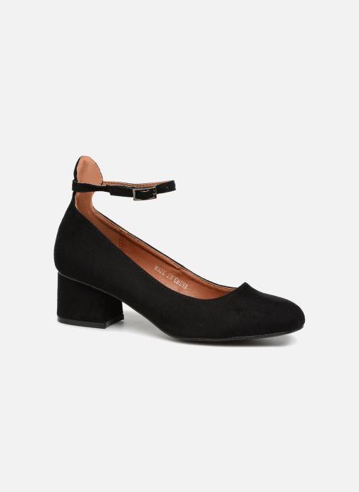 Ballerines I Love Shoes CAMILLA Noir vue détail/paire