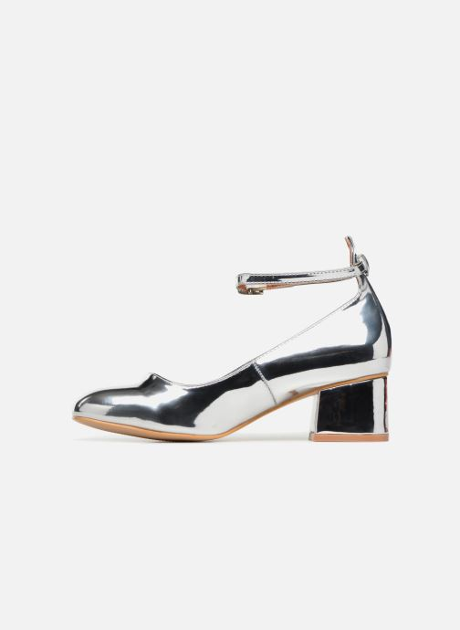 Ballerines I Love Shoes CAMILLA Argent vue face