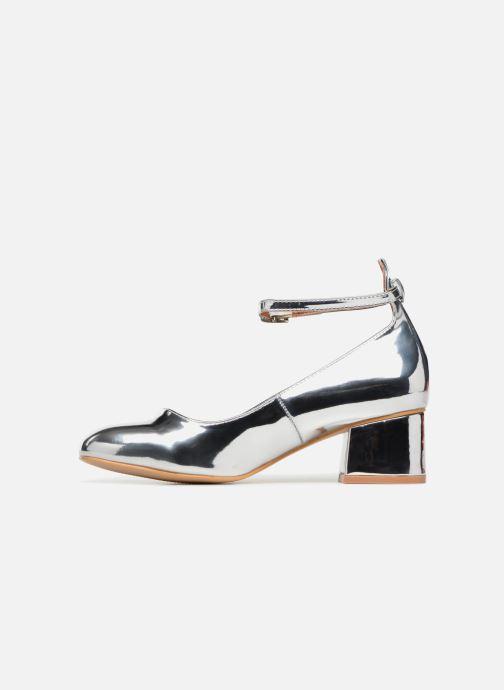 Ballerines I Love Shoes CAMILLA Argent vue face