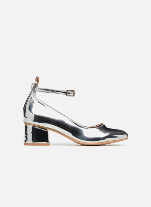 Ballerina's I Love Shoes CAMILLA Zilver achterkant