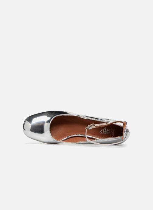 Ballerines I Love Shoes CAMILLA Argent vue gauche