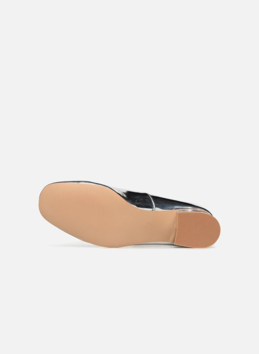 Ballerines I Love Shoes CAMILLA Argent vue haut