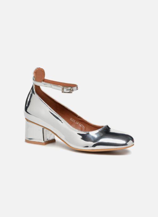 Ballerina's I Love Shoes CAMILLA Zilver detail