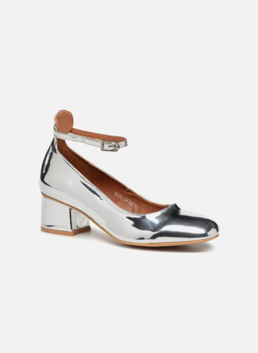 Bailarinas I Love Shoes CAMILLA Plateado vista de detalle / par