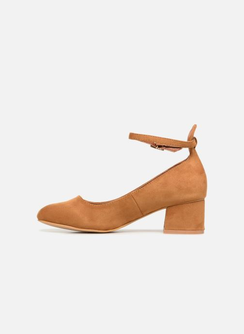 Ballerina's I Love Shoes CAMILLA Bruin voorkant