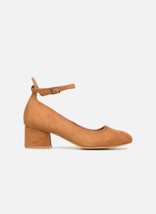 Ballerina's I Love Shoes CAMILLA Bruin achterkant