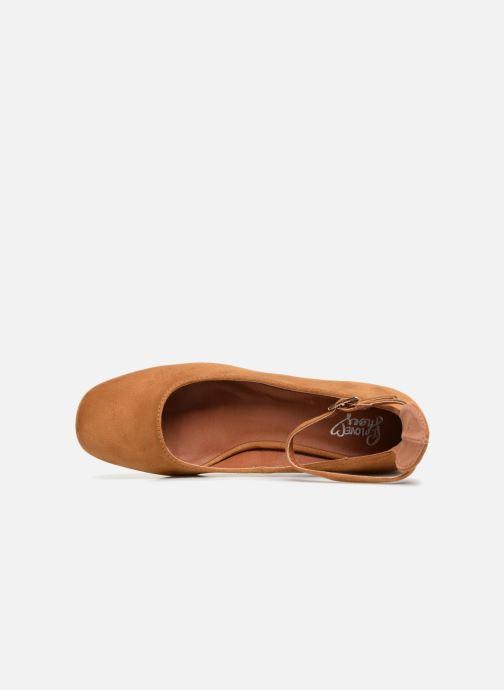 Ballerines I Love Shoes CAMILLA Marron vue gauche