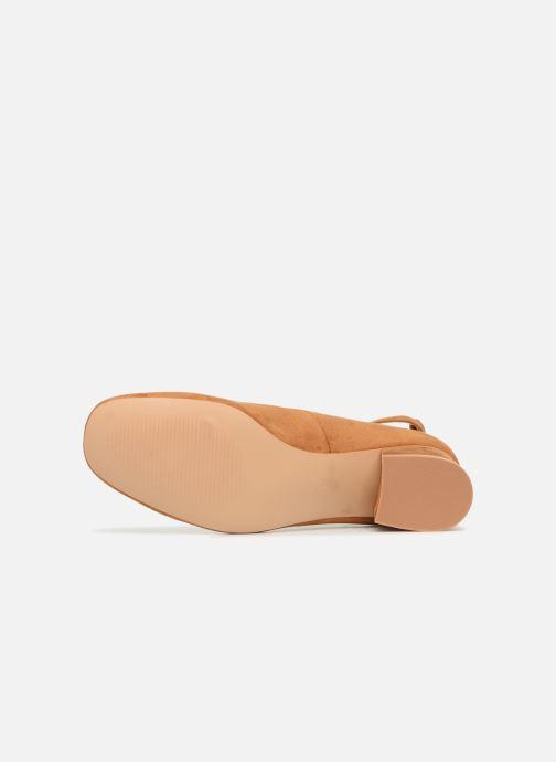 Ballerines I Love Shoes CAMILLA Marron vue haut