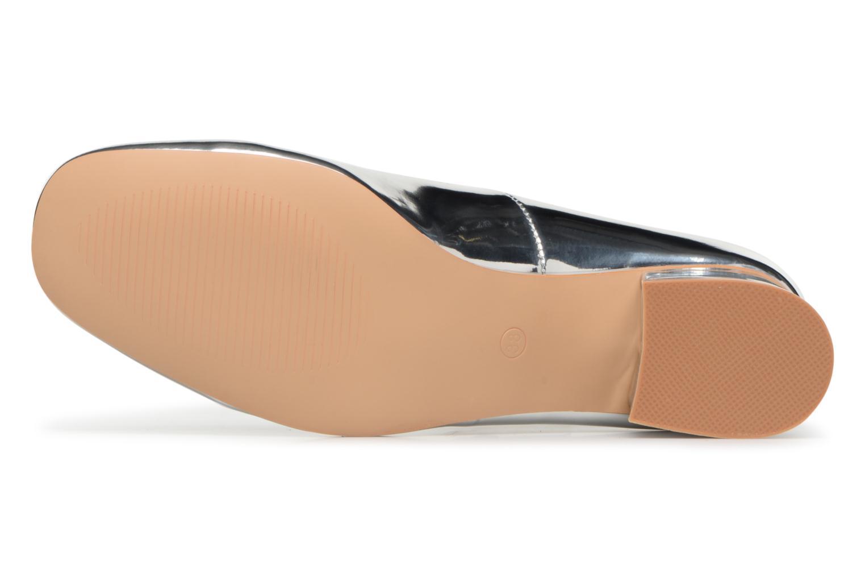 Ballerines I Love Shoes CAMILLA Argent vue haut