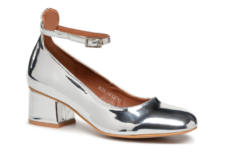 Ballerines I Love Shoes CAMILLA Argent vue détail/paire
