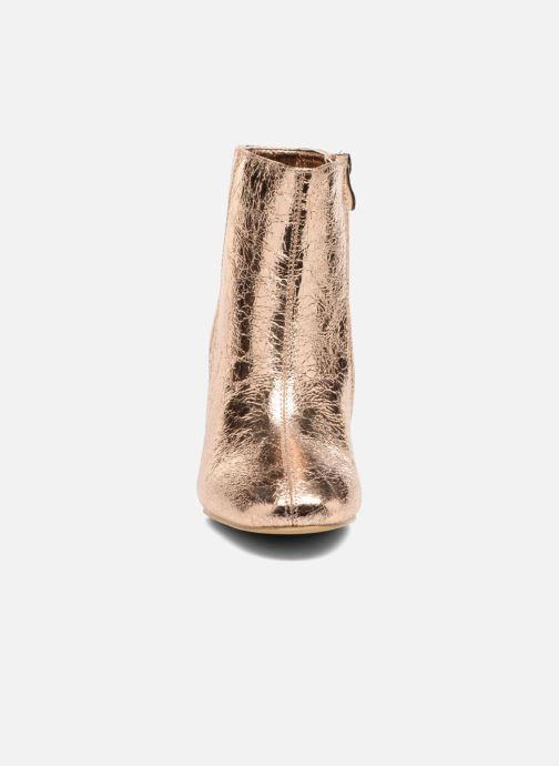 Boots en enkellaarsjes I Love Shoes CORINA Goud en brons model
