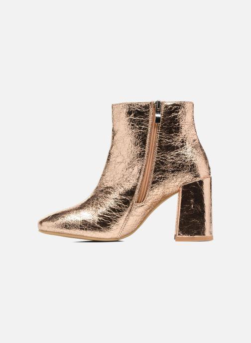 Boots en enkellaarsjes I Love Shoes CORINA Goud en brons voorkant