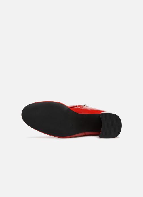 Stiefeletten & Boots I Love Shoes CORINA rot ansicht von oben