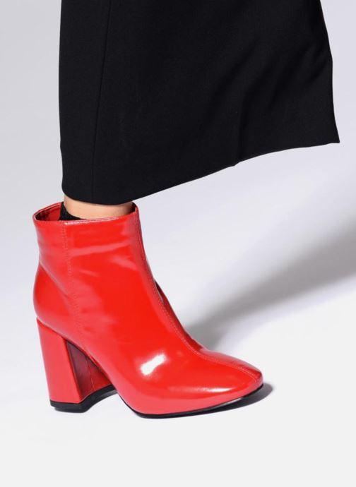 Bottines et boots I Love Shoes CORINA Blanc vue bas / vue portée sac
