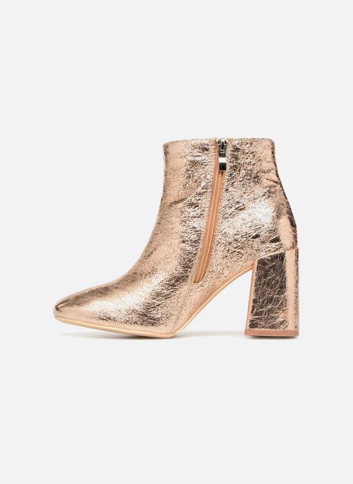 Bottines et boots I Love Shoes CORINA Or et bronze vue face