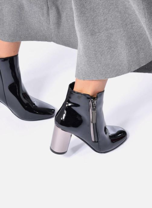 Ankle boots I Love Shoes CRISTINA Silver view from underneath / model view