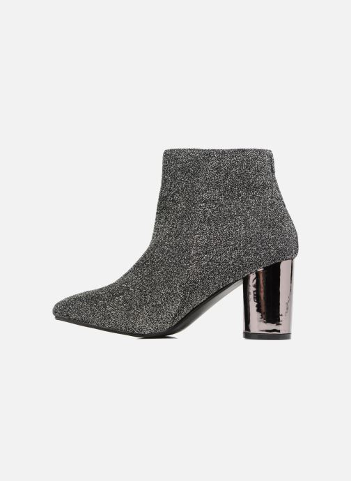 Ankle boots I Love Shoes CRISTINA Silver front view