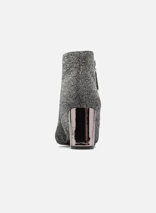 Ankle boots I Love Shoes CRISTINA Silver view from the right