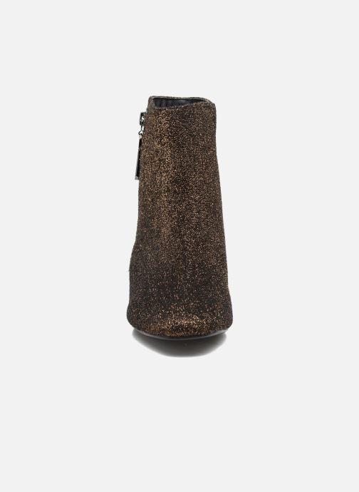 Bottines et boots I Love Shoes CRISTINA Or et bronze vue portées chaussures