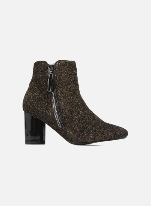 Ankle boots I Love Shoes CRISTINA Bronze and Gold back view