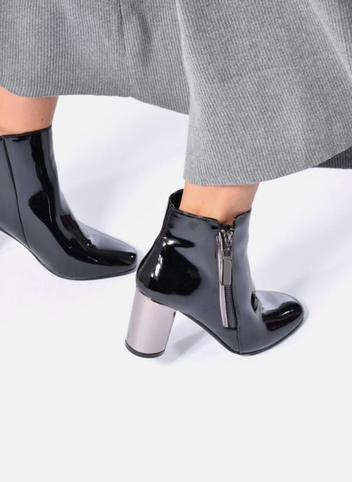 Ankle boots I Love Shoes CRISTINA Black view from underneath / model view