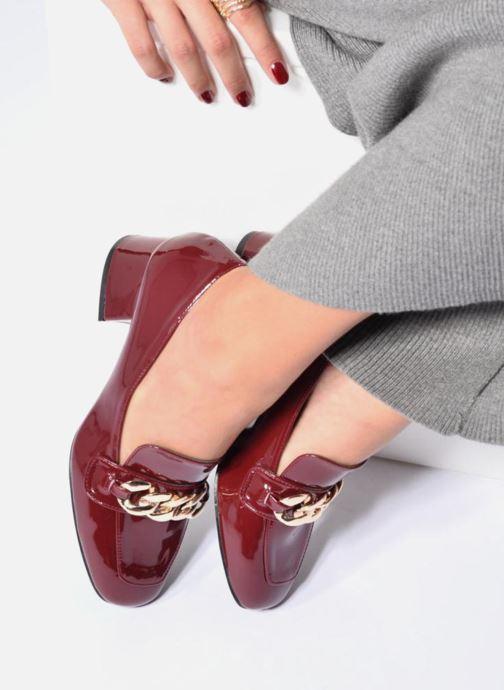 Mocassins I Love Shoes CELINA Argent vue bas / vue portée sac