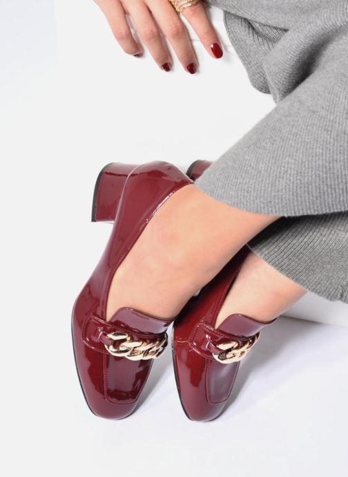 Mocassins I Love Shoes CELINA Noir vue bas / vue portée sac