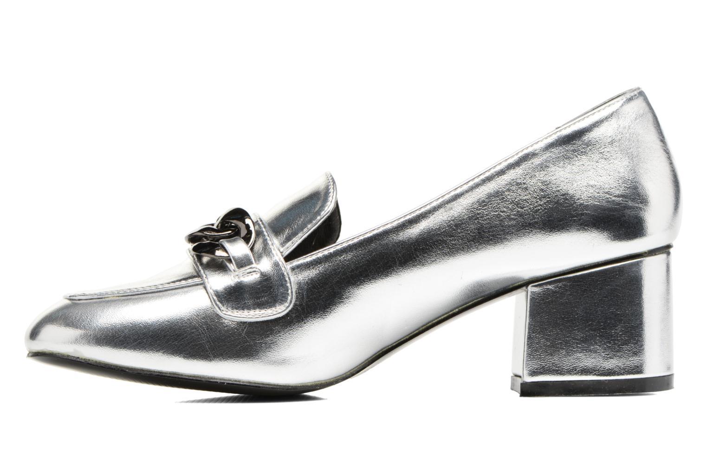 Mocassins I Love Shoes CELINA Argent vue face