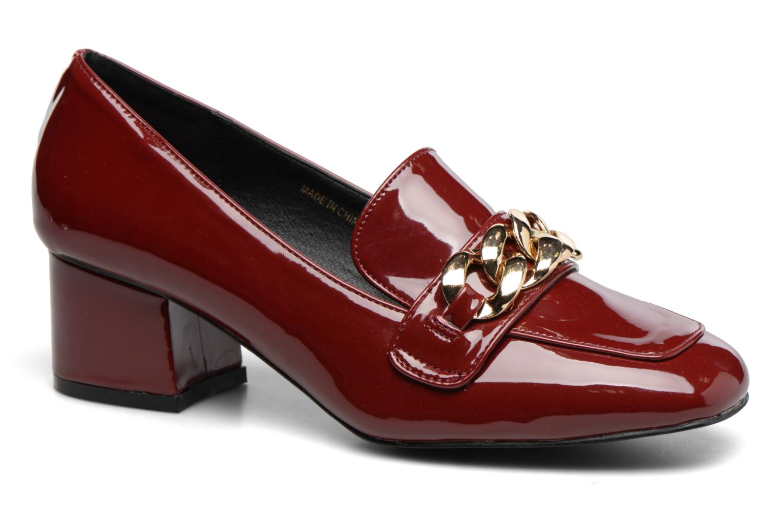 Loafers I Love Shoes CELINA Burgundy detailed view/ Pair view