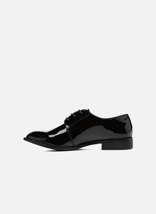Scarpe con lacci I Love Shoes CLEMIA Nero immagine frontale