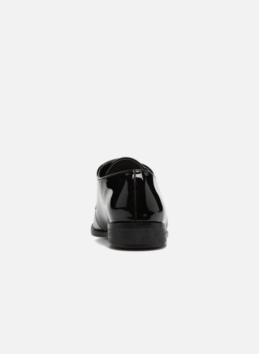 Scarpe con lacci I Love Shoes CLEMIA Nero immagine destra