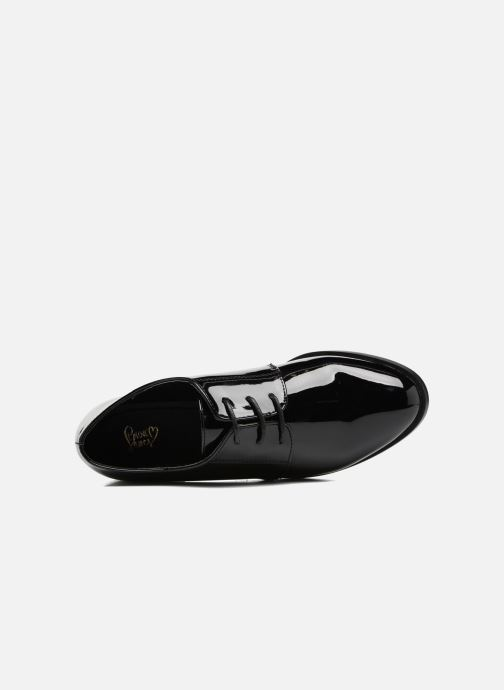 Zapatos con cordones I Love Shoes CLEMIA Negro vista lateral izquierda