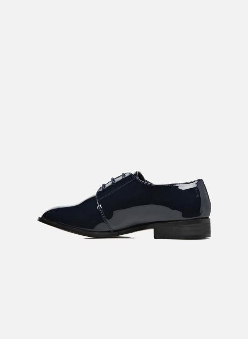 Chaussures à lacets I Love Shoes CLEMIA Bleu vue face