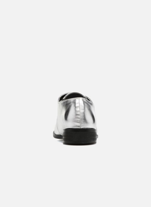 Lace-up shoes I Love Shoes CLEMIA Silver view from the right