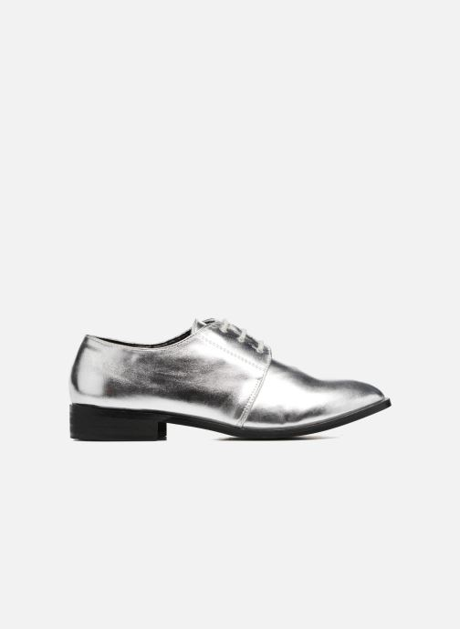 Lace-up shoes I Love Shoes CLEMIA Silver back view