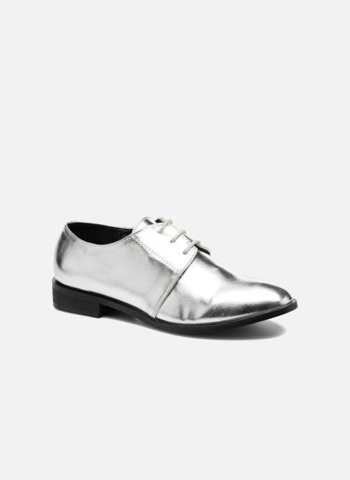 Lace-up shoes I Love Shoes CLEMIA Silver detailed view/ Pair view