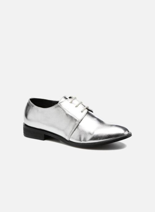 Chaussures à lacets I Love Shoes CLEMIA Argent vue détail/paire
