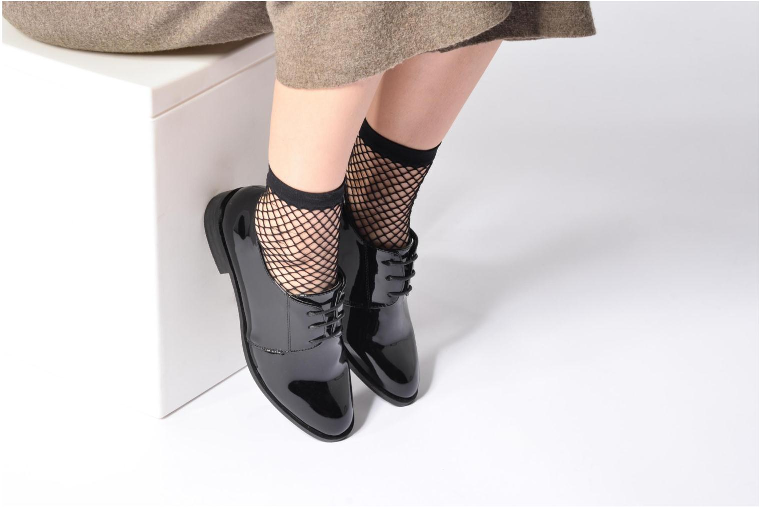 Lace-up shoes I Love Shoes CLEMIA Blue view from underneath / model view