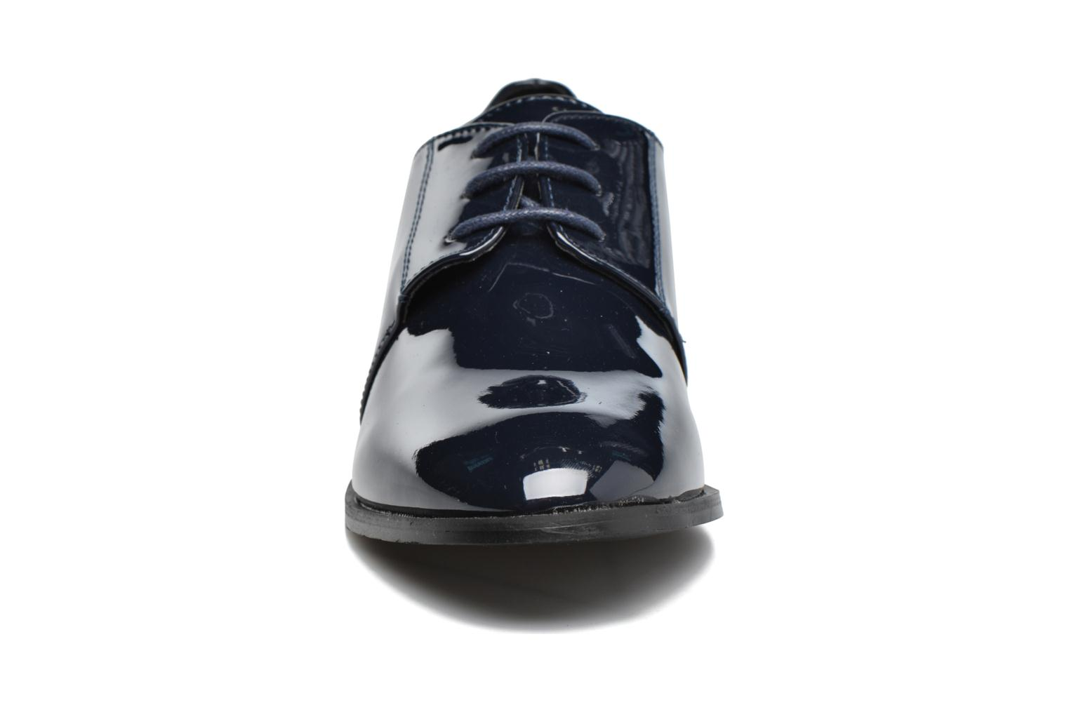 Lace-up shoes I Love Shoes CLEMIA Blue model view