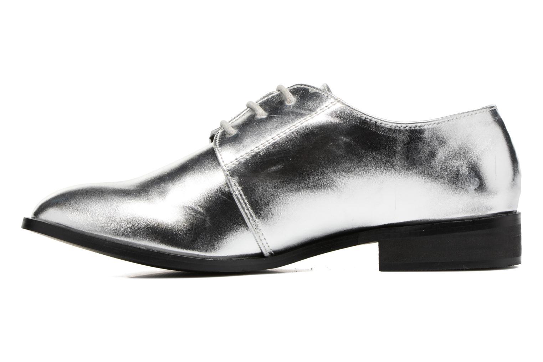 Chaussures à lacets I Love Shoes CLEMIA Argent vue face