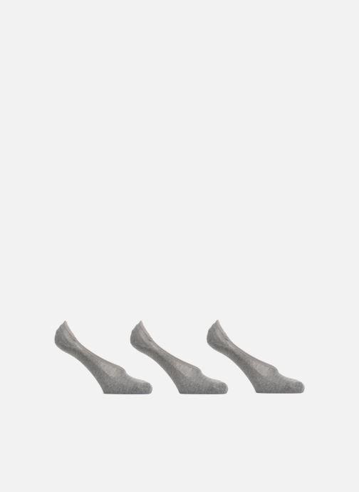 Chaussettes et collants Vans CLASSIC SUPER NO SHOW LOT DE 3 Gris vue détail/paire