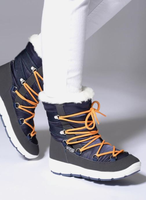 Chaussures de sport SARENZA POP MOWFLAKE Bottes de neige  Snow boots Gris vue bas / vue portée sac